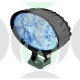 Faro da Lavoro 4 LED Spot Blu