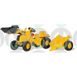 Rolly Toys CAT con Kid...