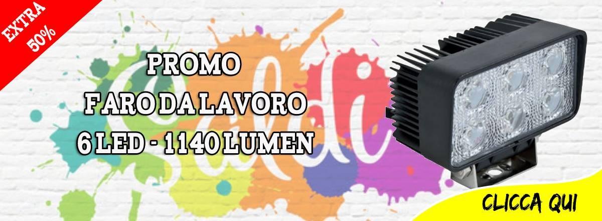 Promo Faro LED
